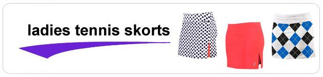 Ladies Tennis Skorts