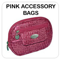 Pink Accessory Bags