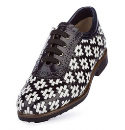 SPECIAL Aerogreen Erba Ladies Golf Shoes - Black/White