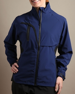 Glen Echo Ladies & Plus Size Stretch Tech Rain Golf Jackets - Assorted Colors