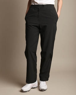 Glen Echo Ladies & Plus Size Stretch Tech Rain Golf Pants - Black