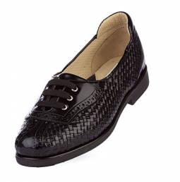 SPECIAL Aerogreen Trani Ladies Golf Shoes -  Black/Black Patent