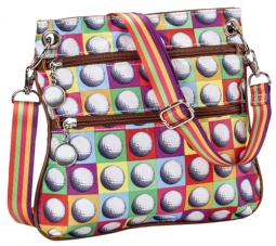 Sydney Love Ladies Golf Across the Body Tote Bags - On the Ball