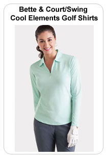 Bette & Court/Swing Cool Elements Golf Shirts
