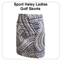 Sport Haley Ladies Golf Skorts