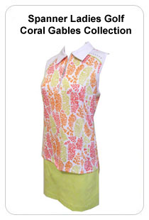 Spanner Ladies Golf Coral Gables Collection