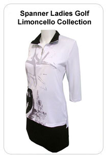Spanner Ladies Golf Limoncello Collection