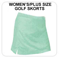 Women's/Plus Size Golf Skorts
