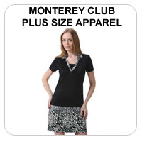 Monterey Club Women's Plus Size Apparel