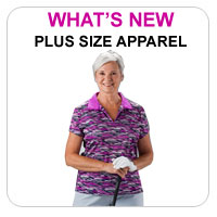 New Women's/Plus Size Golf Apparel