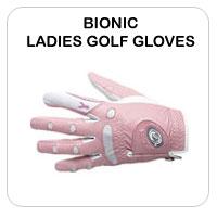 Bionic Ladies Golf Gloves