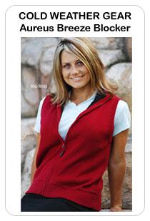 Aureus Ladies and Plus Size Breeze Blocker Golf Vests