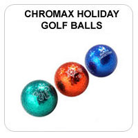 Chromax by Neutron Ladies Golf Balls (3-Pack) - Christmas Theme