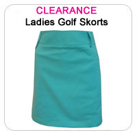 Clearance Ladies Golf Skorts