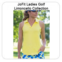 JoFit Ladies Golf Limoncello Collection