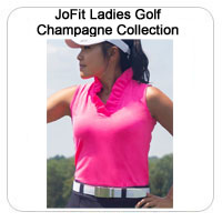 JoFit Ladies Golf Champagne Collection
