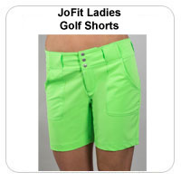 JoFit Ladies Golf Shorts
