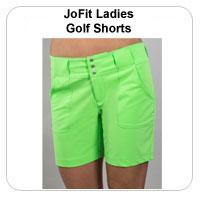 JoFit Ladies Golf Shorts