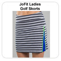 JoFit Ladies Golf Skorts