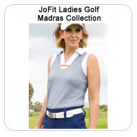 JoFit Ladies Golf Madras Collection