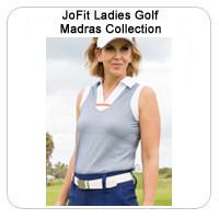 JoFit Ladies Golf Madras Collection