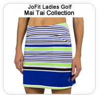 JoFit Ladies Golf Mai Tai Collection