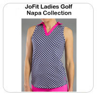 JoFit Ladies Golf Napa Collection