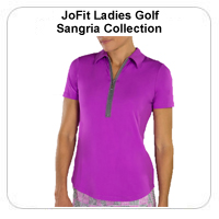 JoFit Ladies Golf Sangria Collection