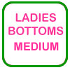 Ladies Golf Bottoms Medium