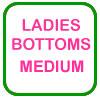 Ladies Golf Bottoms Medium