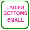 Ladies Golf Bottoms Small