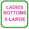 Ladies Golf Bottoms X-Large