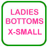 Ladies Golf Bottoms X-Small