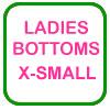 Ladies Golf Bottoms X-Small