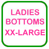 Ladies Golf Bottoms XX-Large