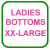 Ladies Golf Bottoms XX-Large