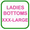 Ladies Golf Bottoms Size XXX-Large