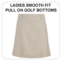 Ladies Pull On Golf Skorts