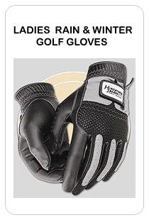 ladies rain & winter golf gloves