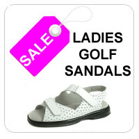Ladies Golf Sandal Clearance