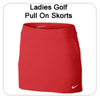 Ladies Golf Pull On Skorts