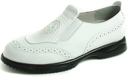Sandbaggers Madison Ladies Golf Shoes - White