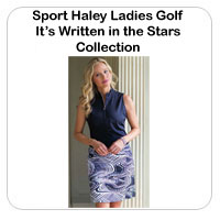 Sport Haley Ladies Golf It�s Written in the Stars Collections