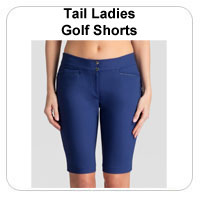 Tail Ladies Golf Shorts