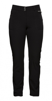 "Daily Sports Ladies Miracle 32"" Inseam Zip Front Golf Pants - Black"