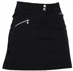 "Daily Sports Ladies 20.5"" Miracle Golf Skorts - Black"