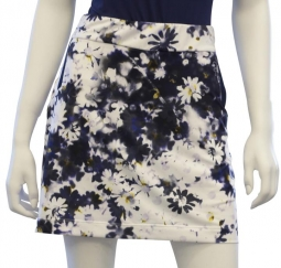 "CLEARANCE EP New York Ladies 17.5"" Pull On Golf Skorts - Spectator Sport (Inky Multi) Spring 2018"