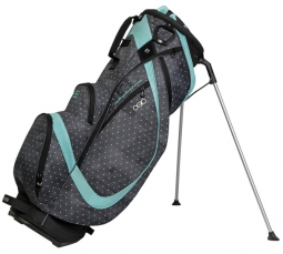 Ogio Women's Featherlite Luxe Golf Stand Bags - Polka Dot / Mint