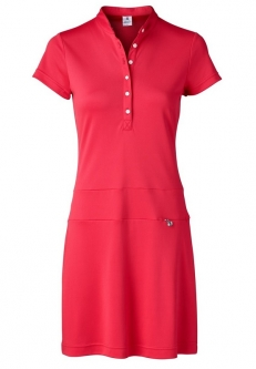 Daily Sports Ladies Selena Cap Sleeve Golf Dress - FEMININE SPORT (Sangria)