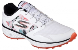 Skechers Ladies Go Golf Tropic Shoes - White Multi